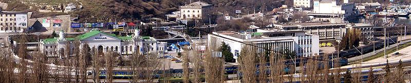 севастопольский ж/д вокзал